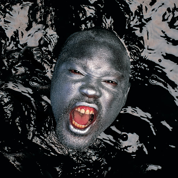 The final photo of Sapp in the pool