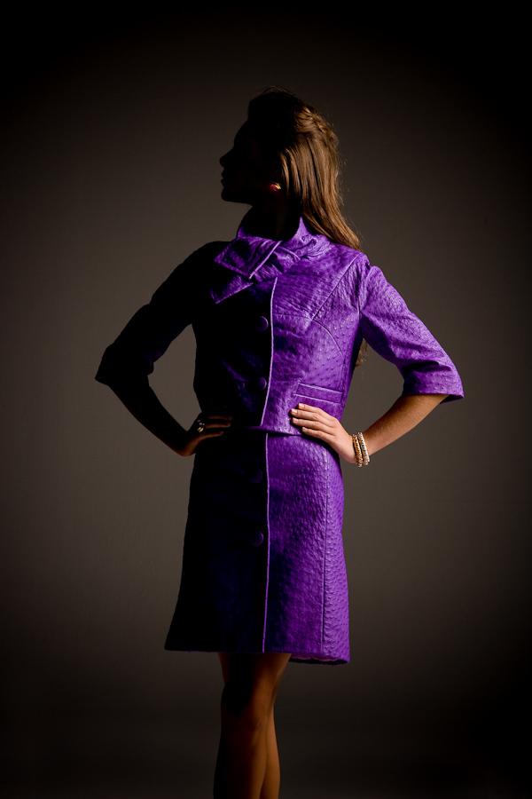 Ostrich Dior suit