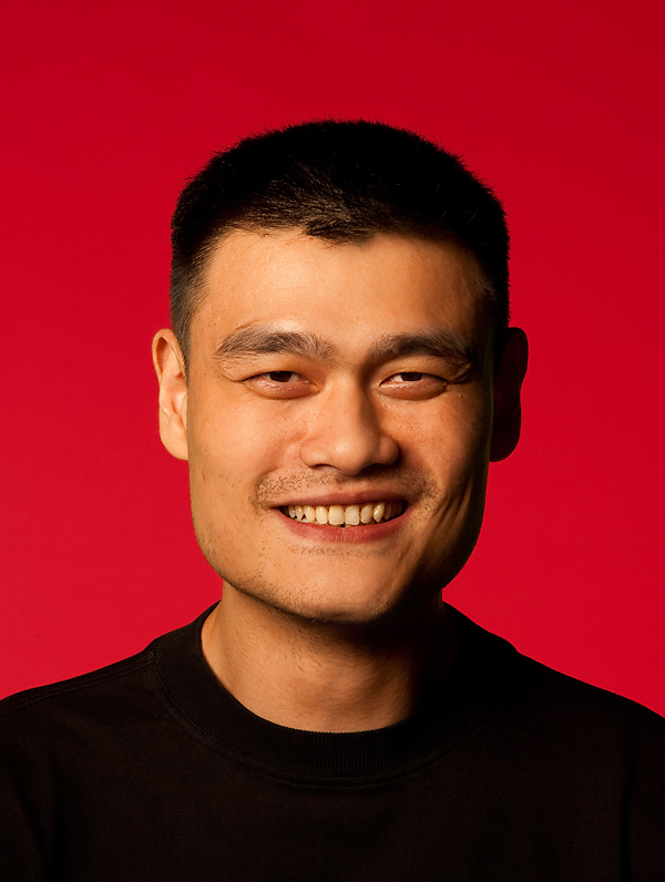 Photographing Yao Ming in the Studio - Houston Tx ...