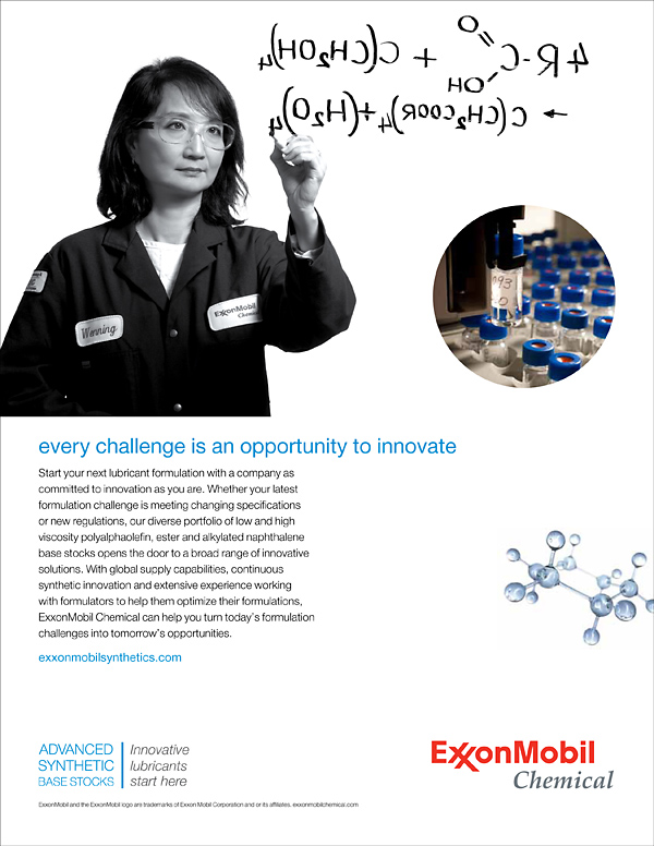 Advertising Photography for ExxonMobil Chemical - Houston Tx