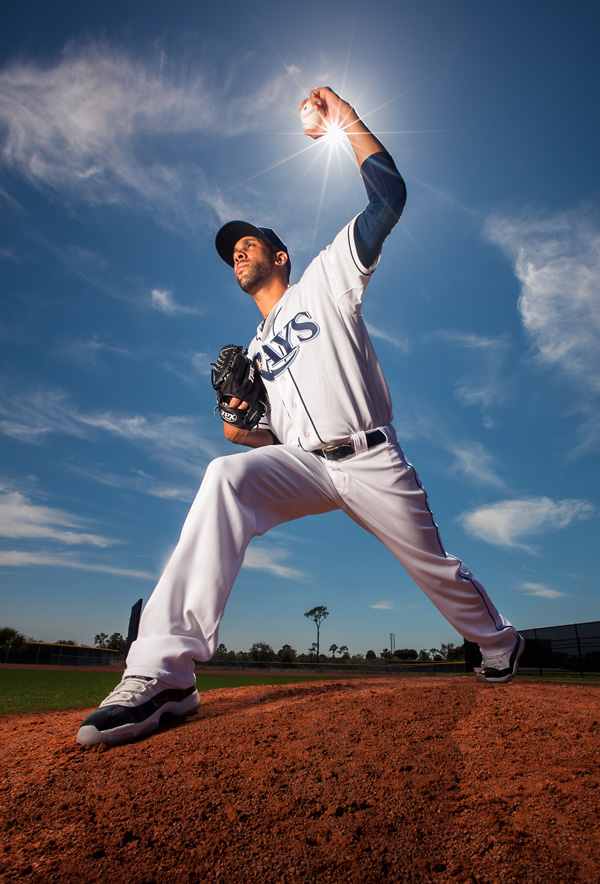 David Price For The Cover Of Sports Illustrated Baseball