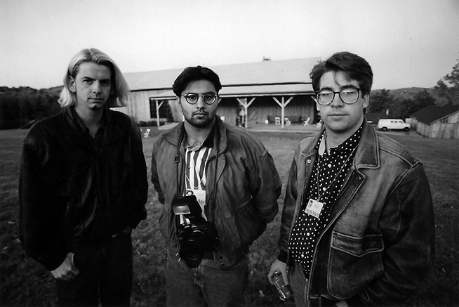 Al Schaben, Adrees Latif, and Robert Seale, EAW 6, October 1993.