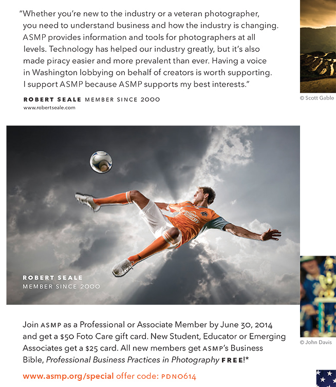 Here's a tighter crop of the June 2014 ASMP ad in PDN.