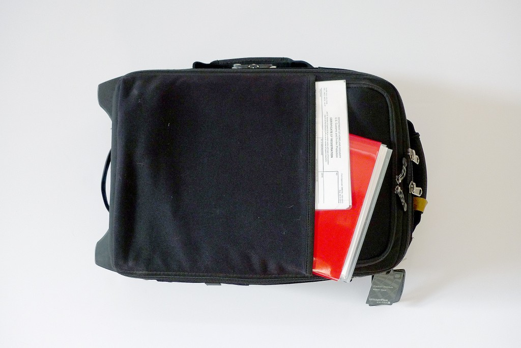 Commercial Photographer Robert Seale's Photo Bag
