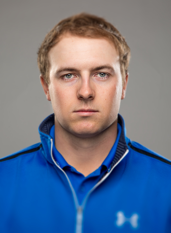 Tight shot of Jordan Spieth during SI photo shoot in Dallas.