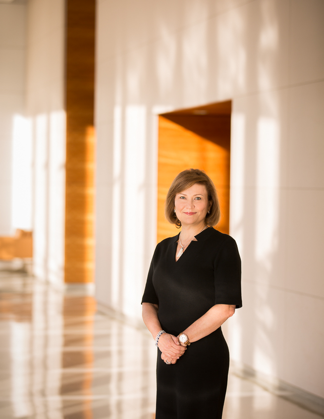 Juliet S. Ellis, CFA, who is the CIO, US Growth Equities, and Sr. Portfolio Manager at Invesco Advisers, Inc., photographed at Houston Methodist Hospital in the Texas Medical Center in Houston, Texas on Wednesday, July 15, 2015.  © 2015 Robert Seale/All Rights Reserved.