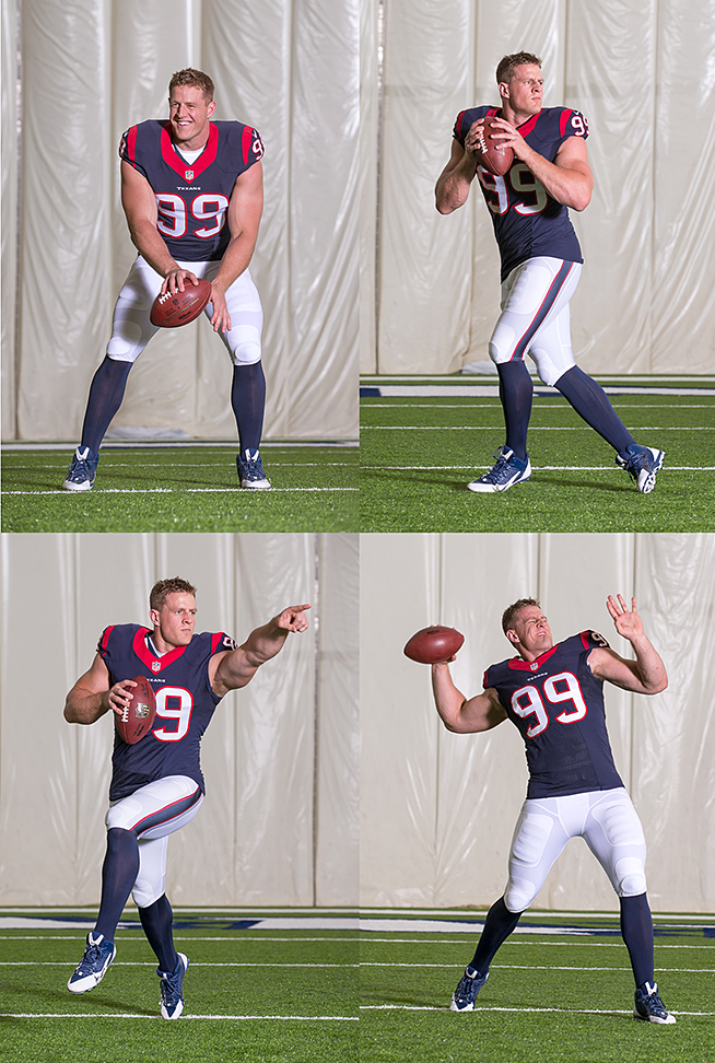 JJ Watt quarterback