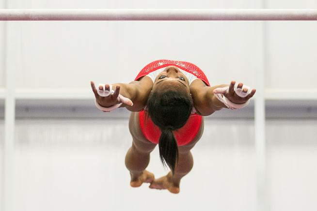 USA Olympic Gymnast Simone Biles